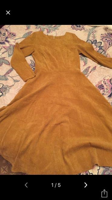 Продаю новое платье, ткань вельвет, в Бишкек