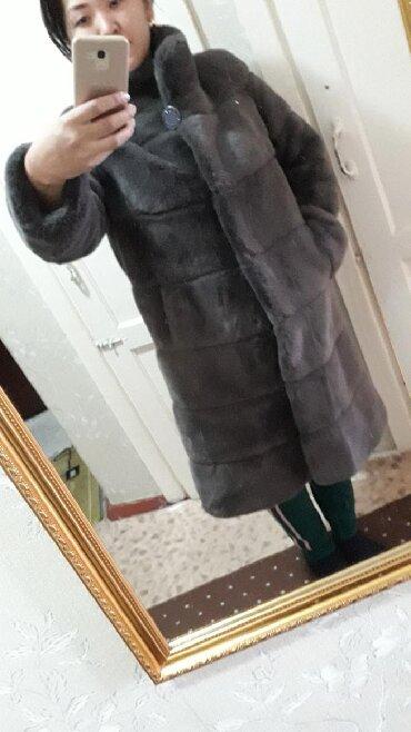 Женская одежда - Мыкан: Продаётся шуба 3-4 раза б/у. Их называют американскими норками. Они