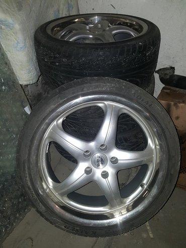 Продаю диски antera с шинами kenda 235/35 z  r19 made in italy в Бишкек