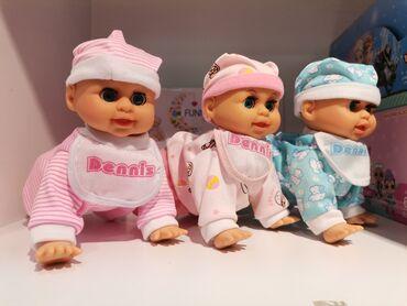 Rucni rad na crepu - Srbija: Beba koja puzi na baterijePored toga prica mama, tata, smeje se