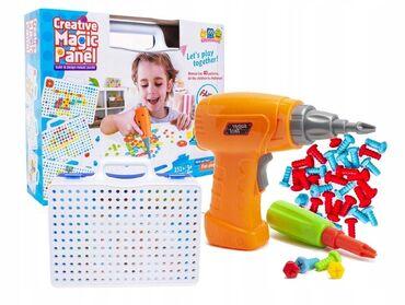 Детский мир - Бостери: Полезный подарок для детей!!!Детский развивающий набор с шуруповертом