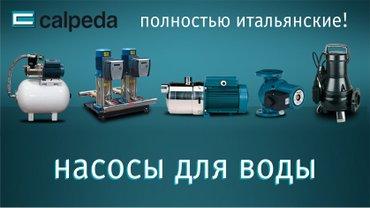 Шланги и насосы в Кыргызстан: Насосы для отопления и водоснабжения calpeda | ИталияОфициальный