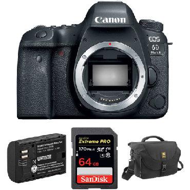 canon eos rebel t6 в Азербайджан: Canon EOS 6D Mark II DSLR Camera Body