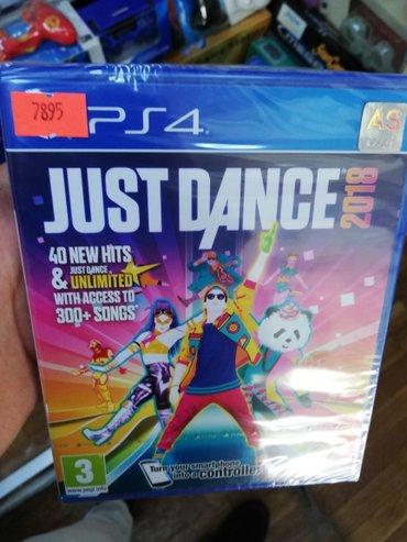 Bakı şəhərində Just dance 2018 Ps4 oyun diski