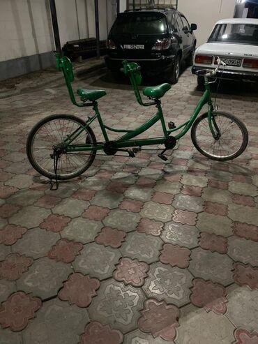Спорт и хобби - Новопавловка: Велосипед 2хместный (тандем) Всё работает!