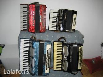 Kupujem harmonike  i tehnicku robu - Beograd
