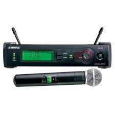 """Bakı şəhərində Mikrofon """"shure slx24/""""  r5. Teze."""
