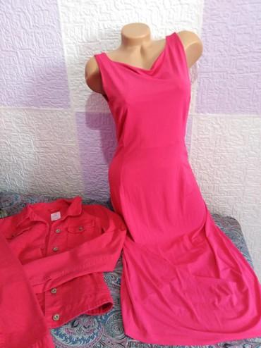 Vecernja-haljina - Srbija: Glendfield Pink haljina M vel. Jako skupo placena, jednostavna a