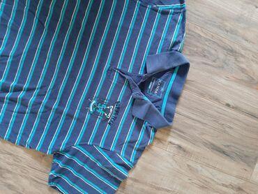Muska majca xxl - Srbija: CANDA C&A muska polo majica. Veličina XXL.  NA PRUGE PLAVE I BELE