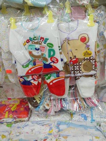 Многоразовые памперсы оригинал + вкладыши. Детские пижамы, костюмчики, в Бишкек - фото 7