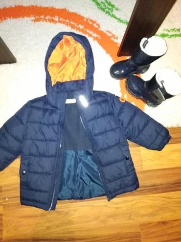 Cizmice postavljene unutra - Srbija: Nova HM jakna odgovara velicini 3godine,cizmice su gratis iz Italije