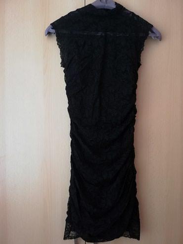 Uska zenska haljina, kao nova Postava pamuk preko cipka - Lajkovac