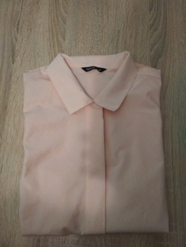 туника желтая в Кыргызстан: Рубашка от Splash персикового цвета, куплена в Дубай, новая, цена - 50