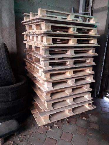 Продаю поддоны сухие чистые стоят под навесом цена за штуку 200сом. в Бишкек