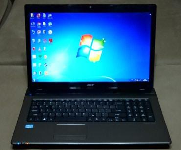 Bakı şəhərində Acer 7750 intel core i5-2430M