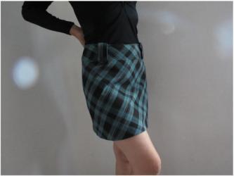 Zimska suknjica - Srbija: ORSAY karirana suknja 38 velSuknjica kao nova prelepe boje