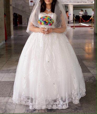 На прокат шикарное платье,7000 сом, в Лебединовка