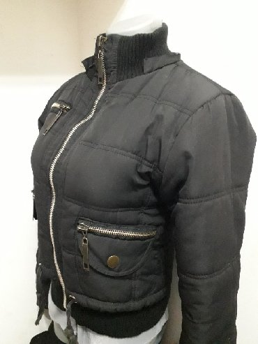 Crna kratka jaknica vel S besprekorna - Obrenovac