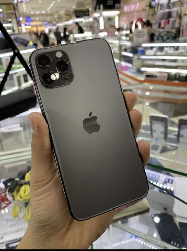 айфон 6 плюс цена in Кыргызстан | APPLE IPHONE: IPhone 11 Pro | 64 ГБ | Черный Б/У | Гарантия