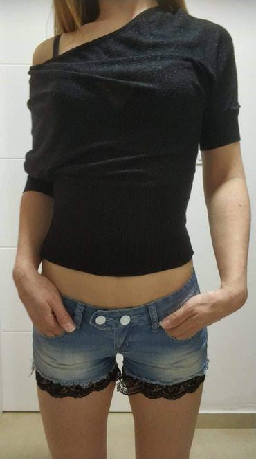Sorc sa crnom cipkom 700, DilVin majica 800 S/M velicine - Novi Sad