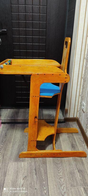 Детский мир - Чон-Арык: Продается стульчик для кормления 1,500с . находимся с Петровка