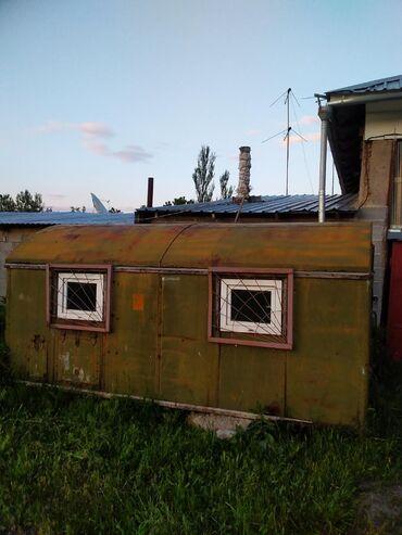 Продаю КУНГ жилой,утепленный,без колес,размер 3.5*2.5метров