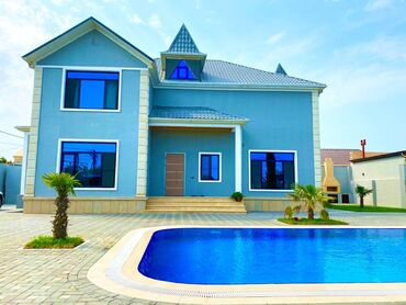 manqal - Azərbaycan: Satılır Ev 350 kv. m, 5 otaqlı