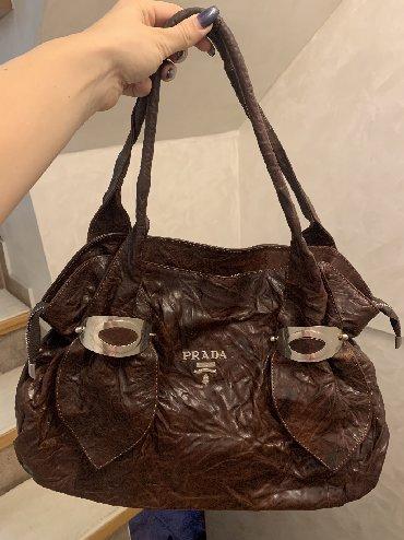 Prada torba je turskoj e - Srbija: Kvalitetna kožna torba kupljena u Turskoj. Kopija PRADA. u odličnom st