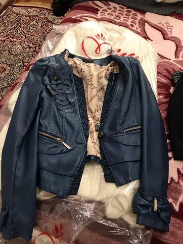 синяя kia в Ак-Джол: Продаю кожаную куртку!