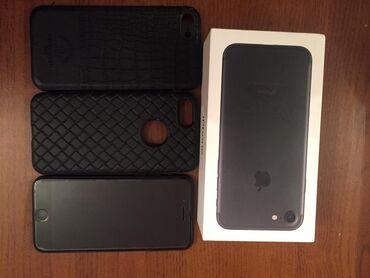 i phone 7 - Azərbaycan: İşlənmiş iPhone 7 128 GB Qara (Jet Black)