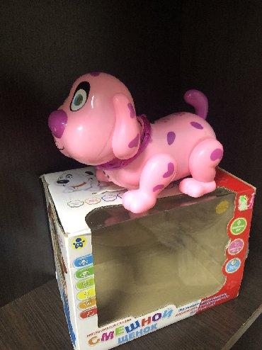 купить ауди а 4 в Кыргызстан: Детская игрушка, Интерактивная говорящая собака.Новая в упаковке, поку