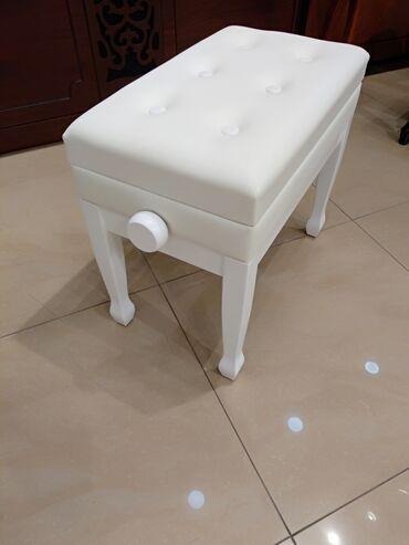 Oturacaq - Piano və Royal üçün hündürlüyü tənzimlənən oturacaq.Yüksək