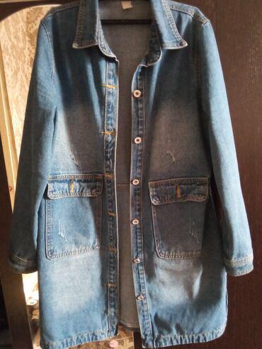 Джинсовая куртка размер 44-46
