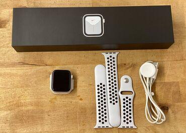 Смарт часы от Apple, 5 серии на 44 мм. Состояние отличное. Дефектов не