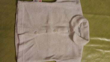 Dempercic za bebe vel.74,bele boje,ocuvan i bez ostecenja i fleka - Petrovac na Mlavi