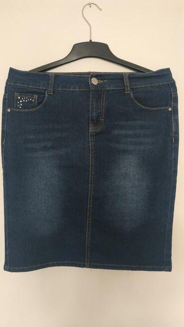 Ženska odeća   Nis: Laura Torelli nova teksas suknja. Veličina 40