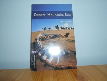 Knjige, časopisi, CD i DVD - Srbija: Desert, Mountain, Sea. potpuno nova, u celofanu. Level 4. The books