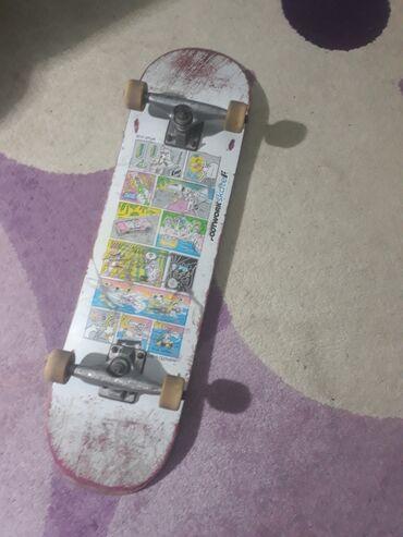 доски fluorescent board в Кыргызстан: Продаю скейтбордКолёса ricta отдам ещё ojДоска footworkПодвески