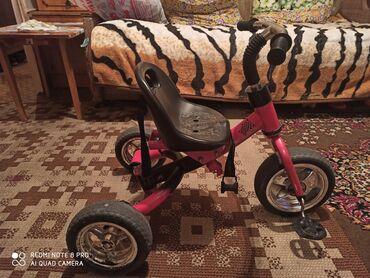 Велосипеды - Кыргызстан: Велосипед трёхколёсный, катались дома