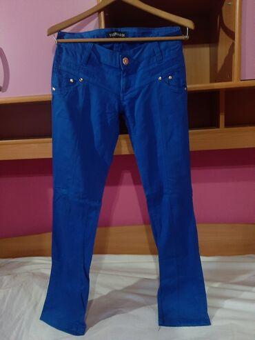 Trussardi plave pantalone velicina 30