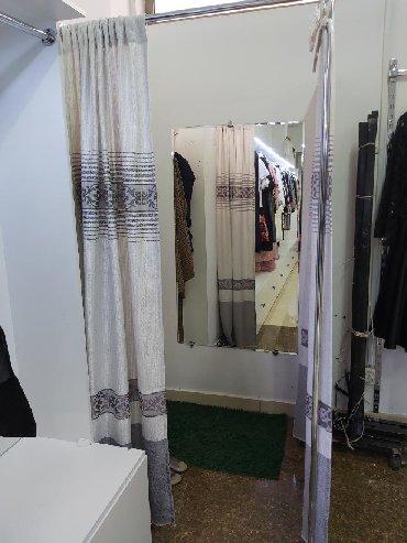 Примерочная полный комплект с зеркалой для бутика или магазина одежды