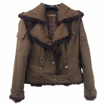 Jakna sa prirodnim krznom - Srbija: Original vintage Dior jakna. Kombinacija sa prirodnim krznom. Nema
