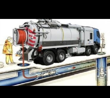 Продувка канализации Бишкек  Чистка канализации  Канализация чистка  З