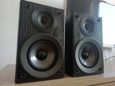 Zvučnici Panasonic SB PM48 od 4 oma kao novi. Dimenzije zvučnika