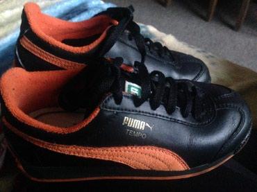 Puma original decije patike kozne . Nosene malo broj 28, duzina - Jagodina