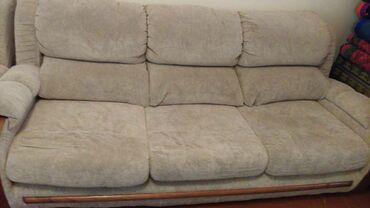 """посуточная квартира в городе каракол в Кыргызстан: Продам комплект """"Манхеттен""""мягкой мебели.Диван большой,диван 2х"""