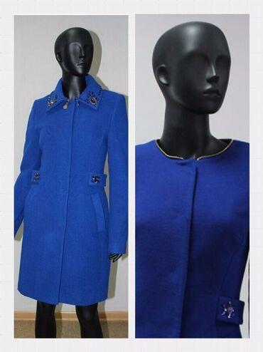 пальто loreta турция в Кыргызстан: Теплое пальто на подкладе (осень-зима)Производство- Турция Воротник