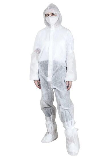 Медицинская одежда - Кыргызстан: Спец одежда,Защитные костюмы от вируса,из спанбонда разной плотности