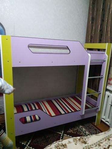 Продаю новую двух ярусный кровать из российского ламината в Бишкек