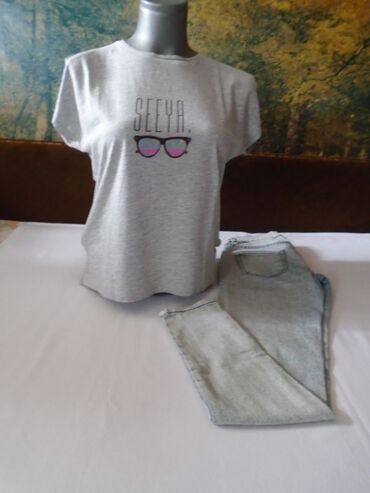 Farmerke-tregeri-na-poklon-icine-o - Srbija: Zara farmerke + poklon majica. Zara farmerke od svetlijeg teksasa
